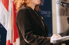 Miranda Mulholland a prononcé un discours devant l'Economic Club of Canada