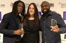 La Fondation SOCAN commandite le Banner Year Award remis à Daniel Caesar et son équipe