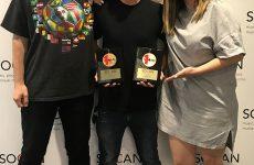 La SOCAN remet deux Prix No. 1 SOCAN à Universal Music Publishing Canada