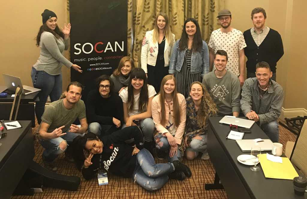 Les auteurs-compositeurs inspirés au SOCAN Song House du BreakOut West 2018