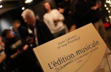 Mise à jour importante du livre L'édition musicale
