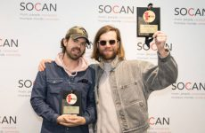 La SOCAN remet un Prix No. 1 SOCAN à Darcys