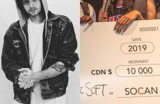 Prix de la chanson SOCAN : «On fouette» de Tizzo, avec Shreez et Soft, remporte la bourse de 10000 $