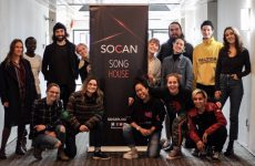 Des auteurs-compositeurs inspirés à la SOCAN Song House du BreakOut West 2019