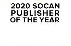 Les mises en candidatures sont ouvertes pour le Prix SOCAN de l'éditeur de l'année