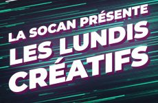 La SOCAN propose des camps de création en ligne durant la pandémie