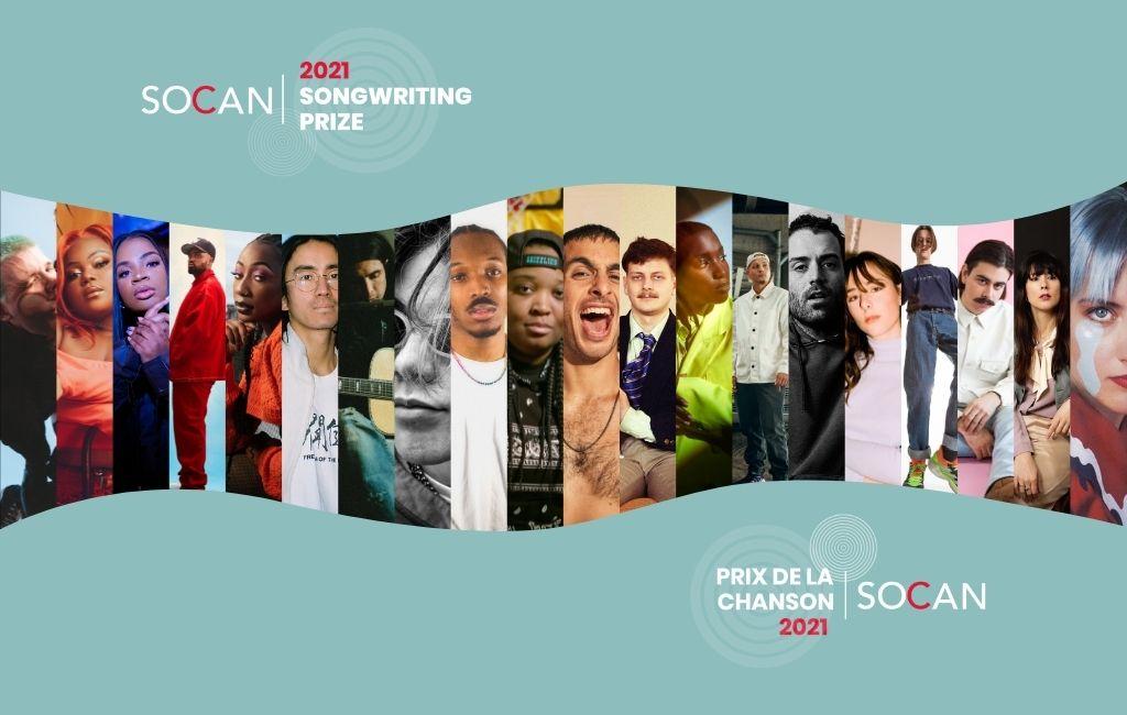 Votez dès maintenant pour les finalistes du Prix de la chanson SOCAN 2021 !