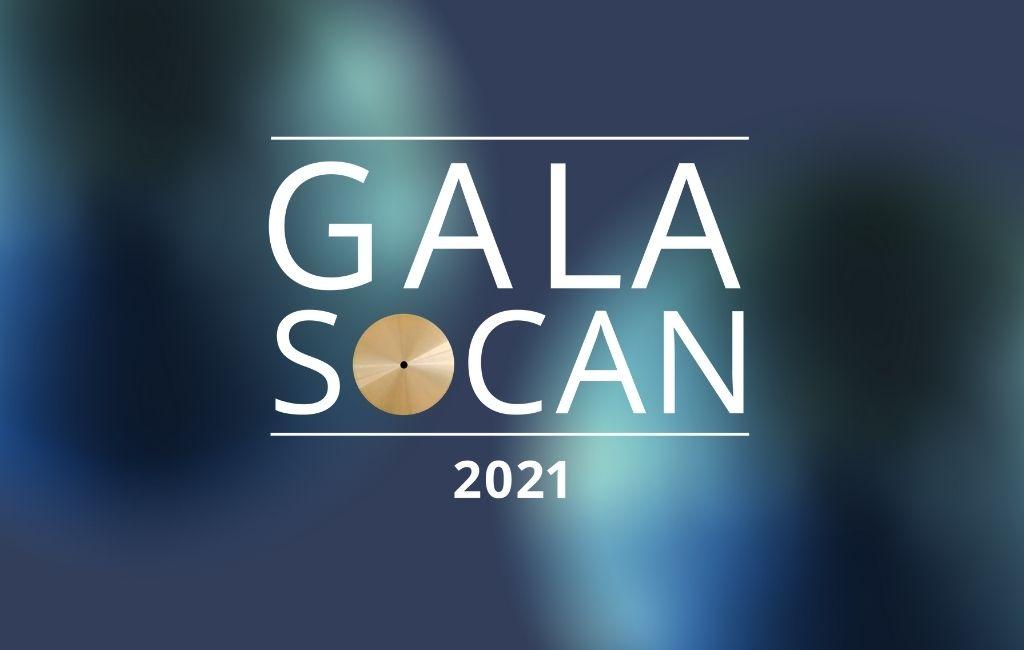 Le Gala SOCAN 2021 met en valeur les réussites des auteurs, compositeurs, et éditeurs de musique Francophones